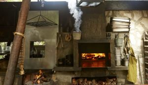 Wood-burning oven at Hartwood, Tulum. From 'Hartwood' by Eric Werner and Mya Henry (Artisan Books). Photograph: by Gentl & Hyers