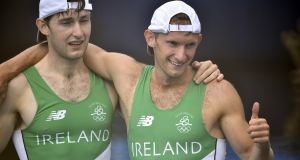 "Ireland's Paul and  Gary O'Donovan. ""I think we are creeping away from the rest of the pack slowly as the races are going on"""