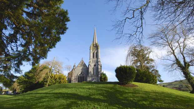 Adelaide Memorial Church in Myshall, Co Carlow, is a miniature of Salisbury Cathedral