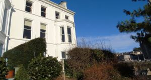 Six-bed with sea views on elegant crescent in Cobh for €550k