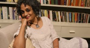 "Arundhati Roy: ""When I'm writing non-fiction, it's a weapon, it's an argument. It has an immediate and urgent purpose.""  Photograph: Mayank Austen Soofi"