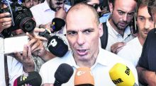 "Yanis Varoufakis's motto was ""If you cannot imagine walking out of a negotiation, you should not enter it."" In the end, he was thrown out for trying to discuss the emperor's new clothes. Photograph: Milos Bicanski/Getty Images"
