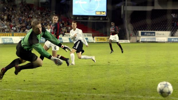 Rosenborg defeated Bohemians 5-0 on aggregate when the sides met in the Champions League qualifiers in 2003. Photograph: Inpho
