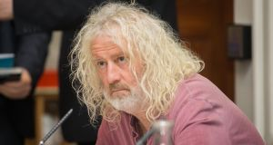 For the last two years, Mick Wallace, has been highlighting Cerberus's role in Project Eagle, Nama's €1.6 billion sale of its Northern Ireland loans. Photograph: Gareth Chaney Collins
