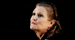File image of US actor Carrie Fisher  in Sydney, Australia, in 2013. File photograph: Tracey Nearmy/EPA