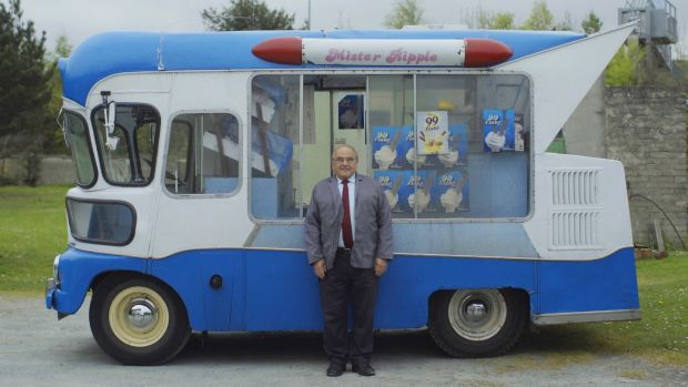 John Taylor who drives an ice-cream van as he has no pension