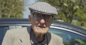 John Walsh, doing his driving test at the age of 101