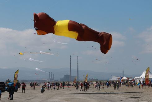 Scene from the Dublin Kite Festival 2017 at the weekend. Photograph: Nick Bradshaw / The Irish Times