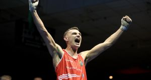 "Sean McComb: ""It was a tough and tricky fight having boxed each other just a few months ago, but I listened to Zaur in the corner. He had a plan and it worked very well."""