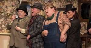 The Ladykillers:  sharply focused characterisations. Photograph: Steffan Hill