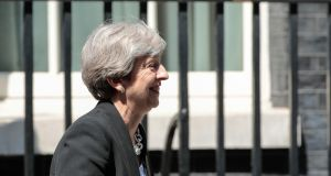 British prime minister Theresa May: The chemistry of politics is the atmosphere in which it takes place. We know when real-world events change the public mood. Photograph: Jason Alden/Bloomberg