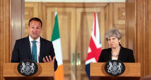 "Leo Varadkar: A ""thrill"" to visit Number 10 for the first time. Photograph: EPA/SIMON DAWSON"