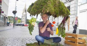 Founder of GIY, Michael Kelly: a garlic moment led to Kelly founding GIY Ireland, an acronym for grow it yourself