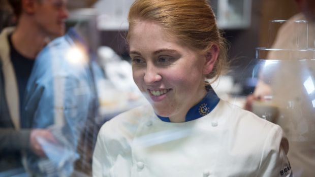 Maeve Walsh, current holder of the title of Ireland's best young chef