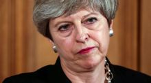 """Theresa May's 'strong and stable' will now join the long list of ironic British euphemisms."" Photograph: Simon Dawson/EPA"