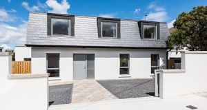 New build on a garden site in Churchtown for €750,000