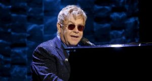 The gig marks Elton John's 23rd time to play in Ireland since playing the National Stadium in Dublin in 1979. File photograph: Mike Segar/Reuters
