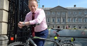 Ciarán Cannon is the third junior minister to represent the Irish diaspora in three years. Photograph: Eric Luke / The Irish Times