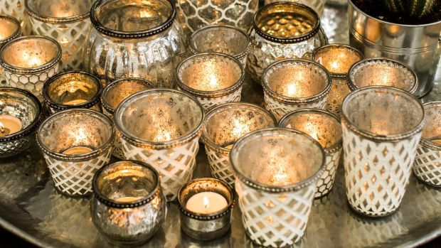 Add a gorgeous glow to your indoors or outdoors with Capri tea light holders from One World (one.world)