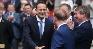 Taoiseach  Leo Varadkar has increased the number of Ministers of State  to 19, one short of Bertie Ahern's record.  File image: Niall Carson/PA Wire