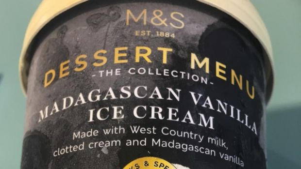 Marks and Spencer Madagascan Vanilla: comes out just behind Häagen-Dazs. A truly excellent ice-cream