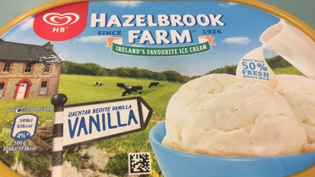 Hazelbrook Farm: cheapest of the bunch and it does stand chance compared with the premium options, though we'd happily eat it on a hot summer's day