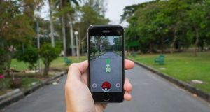 Students seemed generally pleased with the Leaving Cert Spanish exam which included a question which referenced Pokémon Go. Photograph: iStockphoto