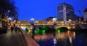 A Mercer survey found Dublin is the second most expensive city in the euro zone  for employees working abroad. File photograph: Getty Images