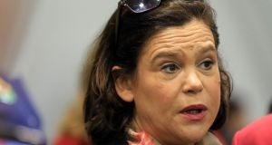 "Mary Lou McDonald, deputy leader of Sinn Féin: questioned Nóirín O'Sullivan on whether she had the clout to be Garda Commissioner and accused her of ""verbal pilates"". Photograph:  Nick Bradshaw"