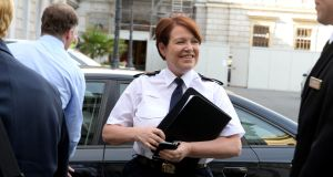 'When it comes to holding her own under intense questioning, Garda Commissioner Nóirín O'Sullivan is very impressive.' Photograph: Cyril Byrne