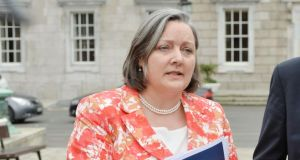 "Marcella Corcoran-Kennedy, one of two ministers of state who were sacked to accommodate the changes, said she found Mr Varadkar's comments on merit to be ""very offensive"". Photograph: Alan Betson"