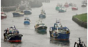 "Controversial legislation on fishing access to Irish waters would deliver an ""open back door"" to EU vessels and undermine Ireland's position during Brexit talks. Photograph: Alan Betson"