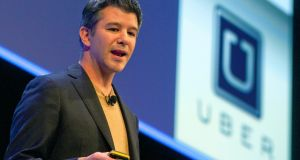 Travis Kalanick: the outgoing Uber chief executive was once caught on camera arguing with his own Uber driver.