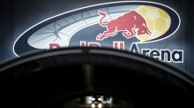The Red Bull Arena in Leipzig, Germany. Photograph:  Getty Images
