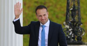 Taoiseach Leo Varadkar: appears to have certain gifts that will allow him to manage now and then a dollop of spontaneity, and even a bit of heart on sleeve. Photograph: Nick Bradshaw