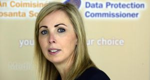 "Data Protection Commissioner Helen Dixon said many public-sector bodies seemed to ""struggle enormously with the high-level, principles-based nature of data-protection law"". Photograph: Cyril Byrne"