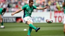 Paddy Jackson: hasn't missed  a kick atgoal for Ireland since Murrayfield last February. Photograph: Ryan Byrne/Inpho