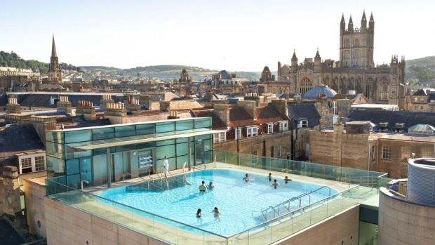 Thermae Bath Spa: let the mineral-rich warm water work its magic on weary bones