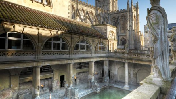 The Roman baths of Bath: you can't leave Bath without taking to the water