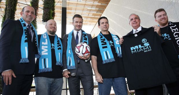 america at large miami not so keen on beckham united