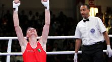 Brendan Irvine secured at least a bronze medal at the European Boxing Championships in Ukraine. Photo: Inpho