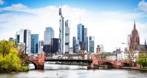 Frankfurt, home to the European Central Bank, has emerged as one of the favored options for global banks. (Photograph: iStock)