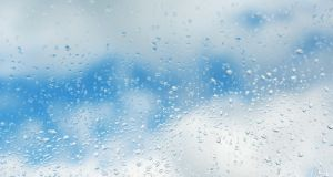 There will be rain at times and the temperature will be dropping back. Photograph: iStock