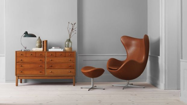The Arne Jacobsen-designed Egg Chair