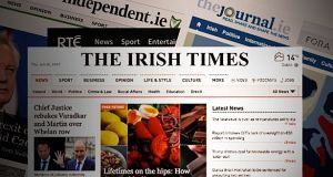 23 per cent of people said The Irish Times was their top source of online news
