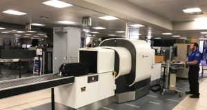 American Airlines and the Transport Security Administration are testing a new type of scanner at Phoenix Airport.