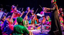 Afghanistan's orchestral manoeuvres a success of note