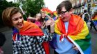 Pride parade, 2016. Photograph: Dara Mac Dónaill,  The Irish Times