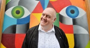 Dara Ó Briain: 'On a spectrum from ranting and raving to urbanely quippy, I would hope in real life I'm more like the latter.' Photograph: Alan Betson