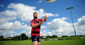 David Cleary at Tullamore rugby club, Co Offaly. Photograph: James Flynn/APX